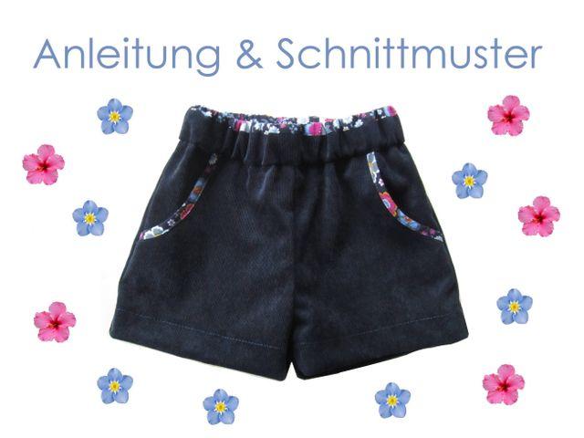 Produktfoto von Lunicum zum Nähen für Schnittmuster Shorts