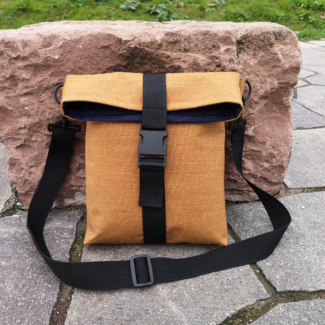 Produktfoto von Meine Schnitte.de zum Nähen für Schnittmuster Rolltoptasche Paulina