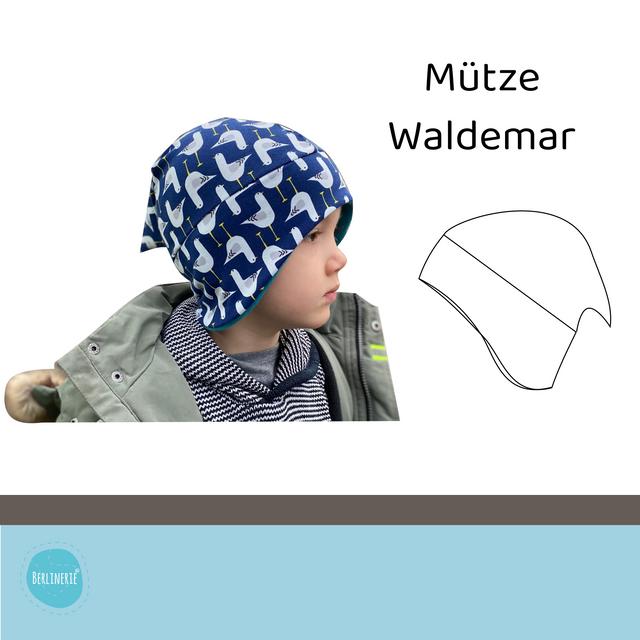 Produktfoto von Berlinerie zum Nähen für Schnittmuster Zipfelmütze Waldemar