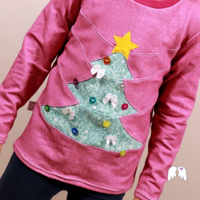 Produktfoto von Engelinchen zum Nähen für Schnittmuster Christmas Sweater