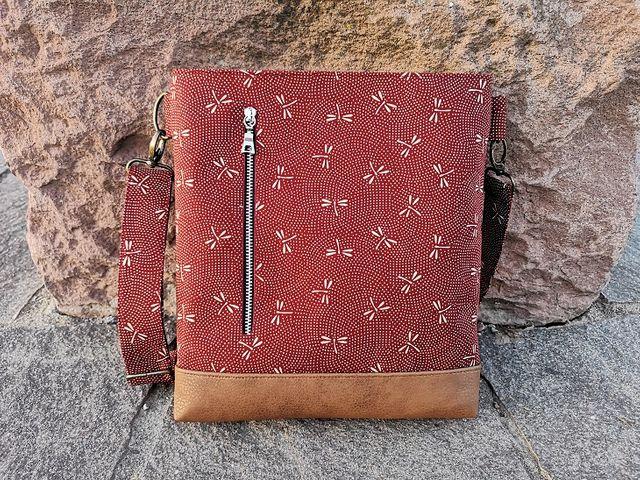 Produktfoto von Meine Schnitte.de zum Nähen für Schnittmuster Umhängetasche/Handtasche Kurtchen