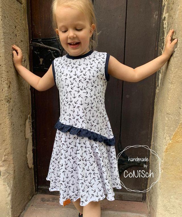 Produktfoto von 73engelchen zum Nähen für Schnittmuster Drehkleid Lisa