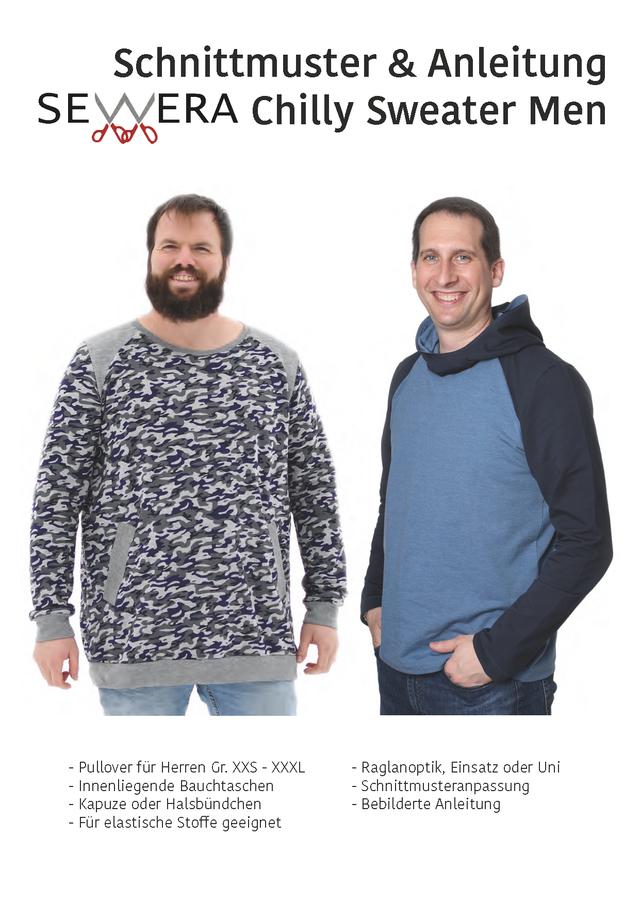 Produktfoto von sewera zum Nähen für Schnittmuster Chilly Sweater Men