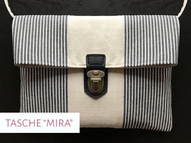 Produktfoto von kreativlabor Berlin zum Nähen für Schnittmuster Handtasche Mira