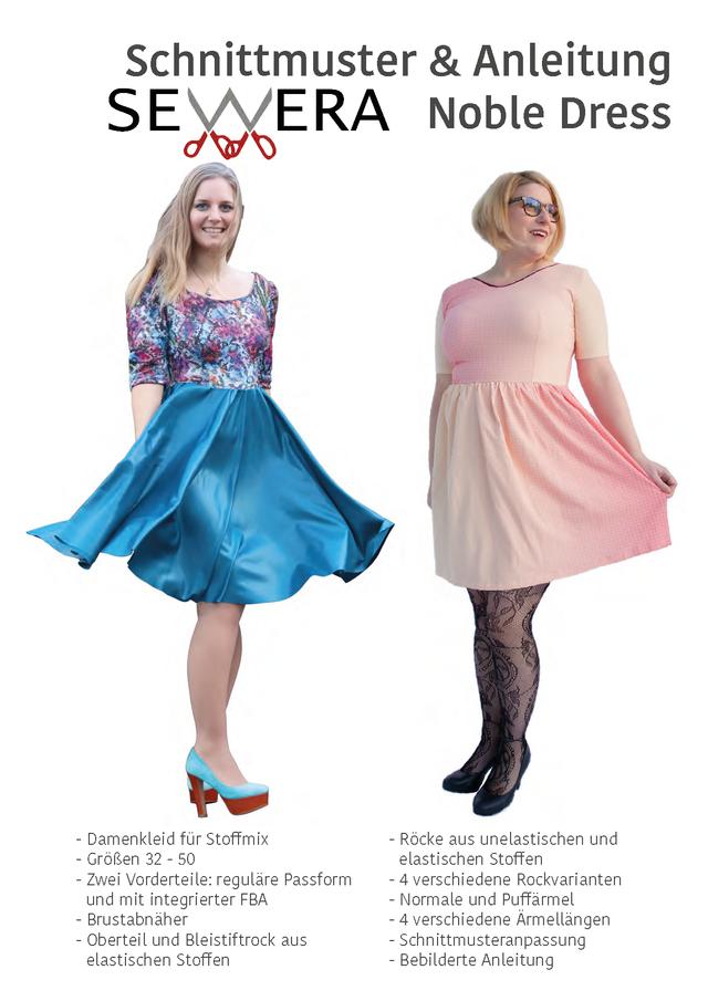 Produktfoto von sewera zum Nähen für Schnittmuster Noble Dress