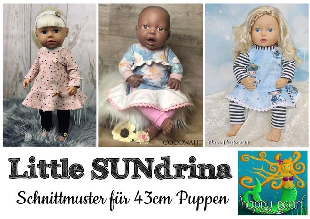 Produktfoto von Happy Pearl zum Nähen für Schnittmuster Little SUNdrina