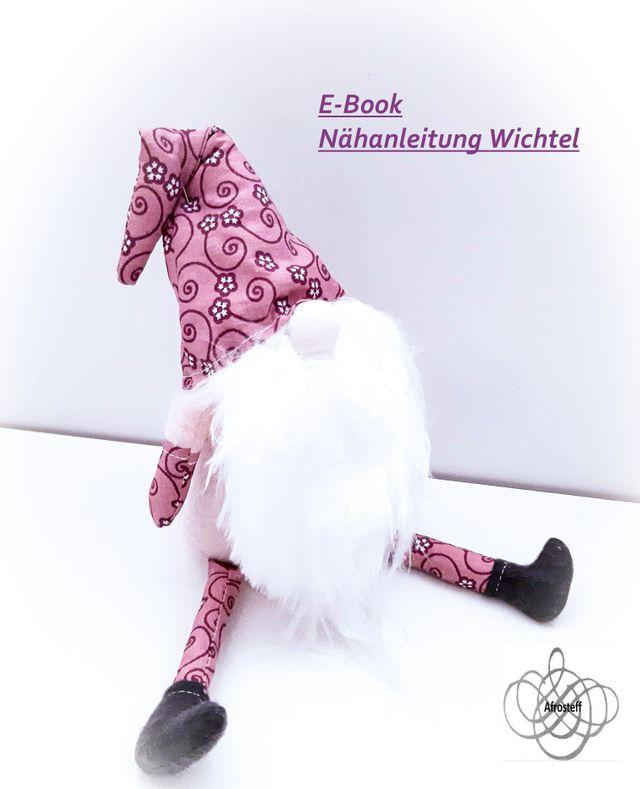 Produktfoto von Afrosteff zum Nähen für Schnittmuster Wichtel