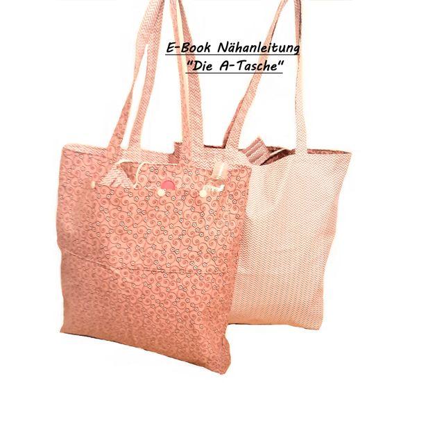 Produktfoto von Afrosteff zum Nähen für Schnittmuster Die A-Tasche