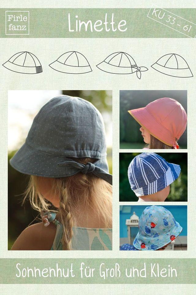 Produktfoto von Firlefanz zum Nähen für Schnittmuster Sonnenhut Limette