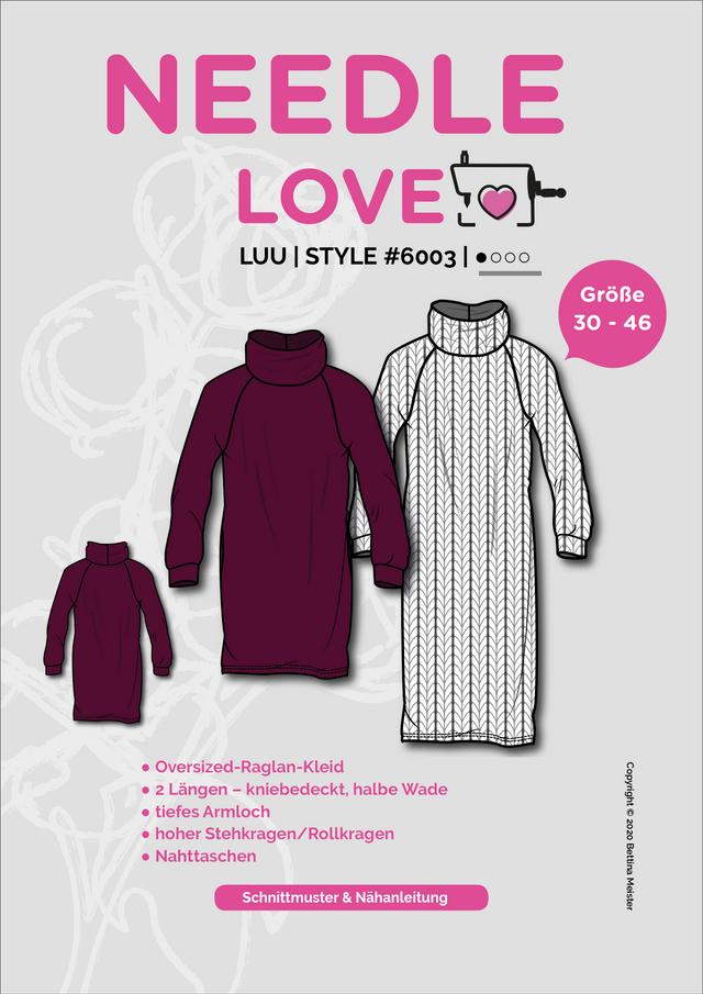Produktfoto von {NEEDLE LOVE} zum Nähen für Schnittmuster LUU-Dress