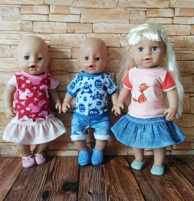 Produktfoto von Zwergnase-Design zum Nähen für Schnittmuster Dress up your Baby Doll Vol. 6