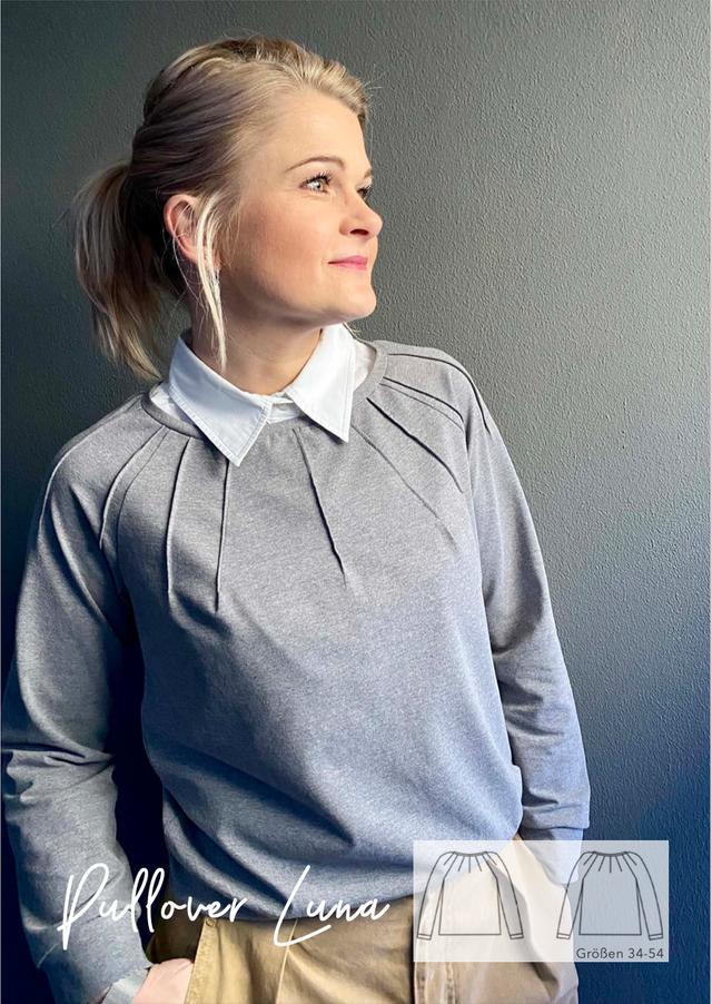 Produktfoto von Finas Ideen zum Nähen für Schnittmuster Pullover Luna