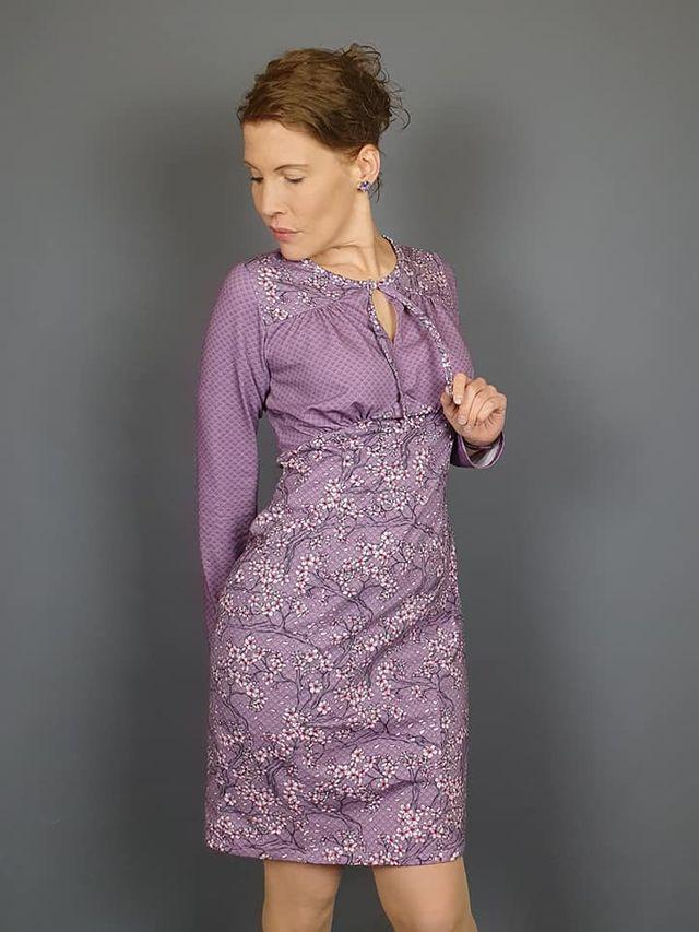 Produktfoto von sewing epiphanies zum Nähen für Schnittmuster Vintagekleid Serenity
