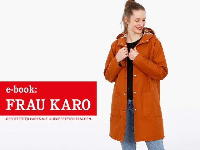 Produktfoto von STUDIO SCHNITTREIF zum Nähen für Schnittmuster Frau Karo
