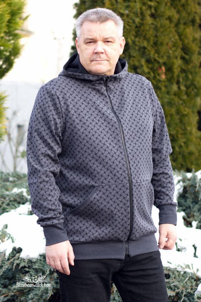 Produktfoto von Hummelhonig zum Nähen für Schnittmuster Kapuzenjacke Havel