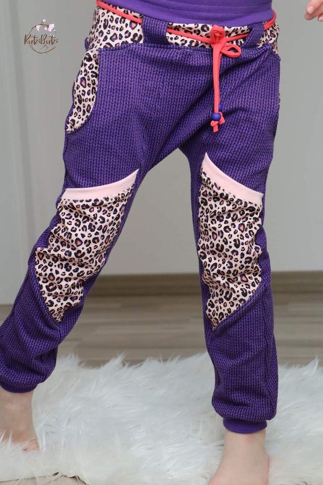 Produktfoto von FrleinFaden zum Nähen für Schnittmuster Geteilte (Taschen)Hose 104-140