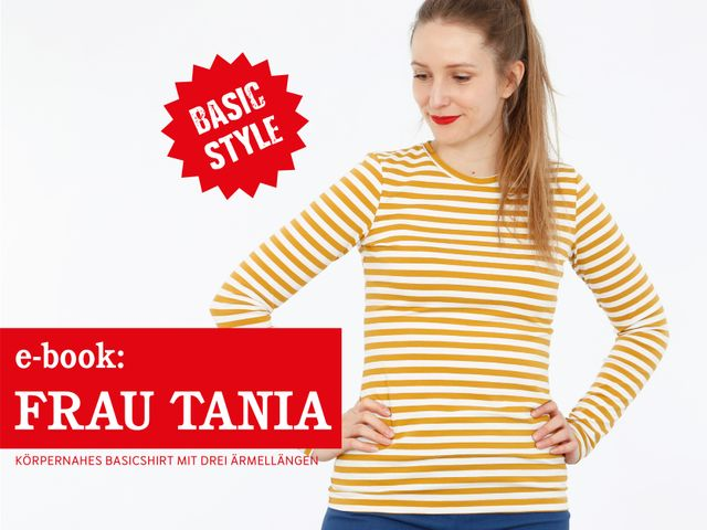 Produktfoto von STUDIO SCHNITTREIF zum Nähen für Schnittmuster Frau Tania