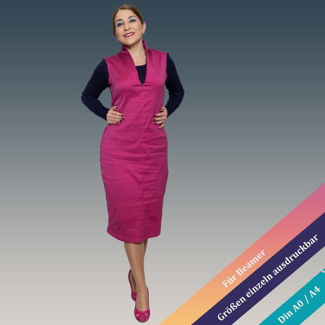 Produktfoto von Unendlich schön - Design Anita Lüchtefeld zum Nähen für Schnittmuster Kleid Oxalis