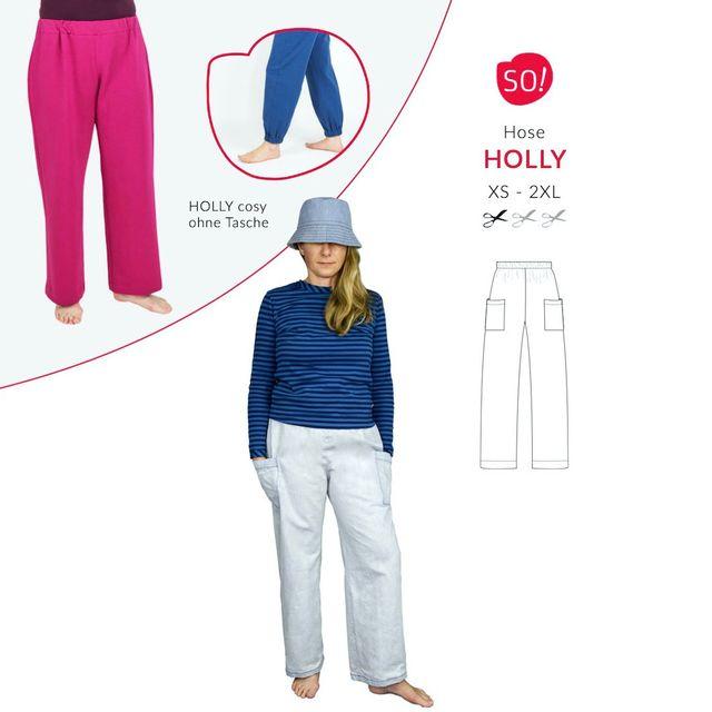 Produktfoto von SO Pattern zum Nähen für Schnittmuster Hose Holly