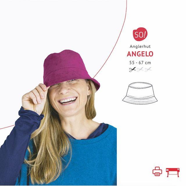 Produktfoto von SO Pattern zum Nähen für Schnittmuster Anglerhut Angelo