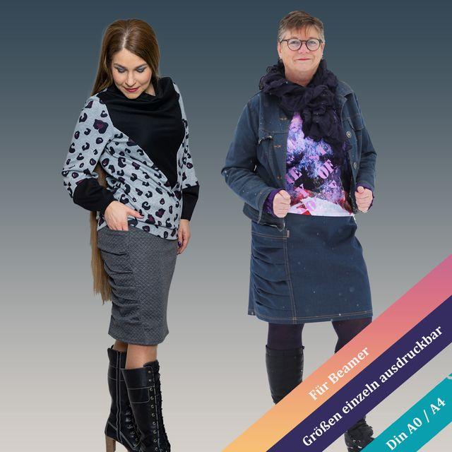 Produktfoto von Unendlich schön - Design Anita Lüchtefeld zum Nähen für Schnittmuster Rock Alicia