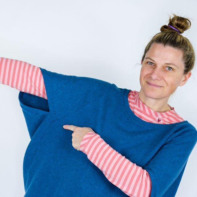 Produktfoto von SO Pattern zum Nähen für Schnittmuster Strick-Pullunder Berta