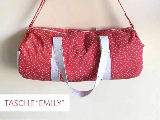 Produktfoto von kreativlabor Berlin zum Nähen für Schnittmuster Umhängetasche Emily