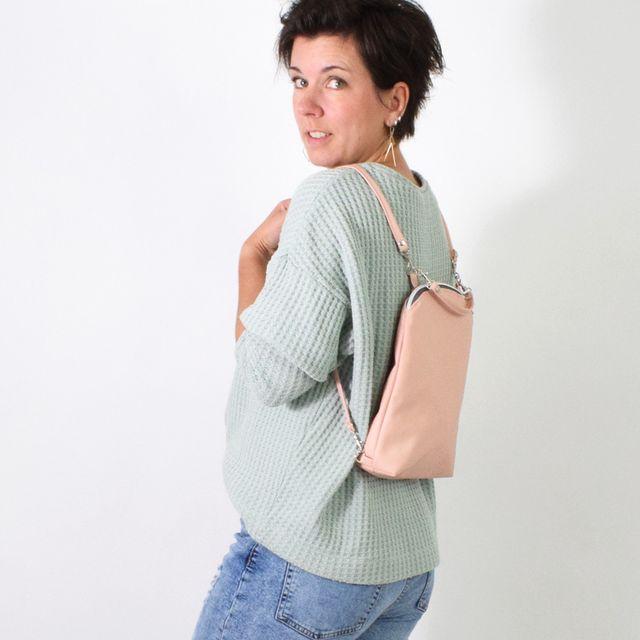 Produktfoto von Leni Pepunkt zum Nähen für Schnittmuster ZITTI.rucksack
