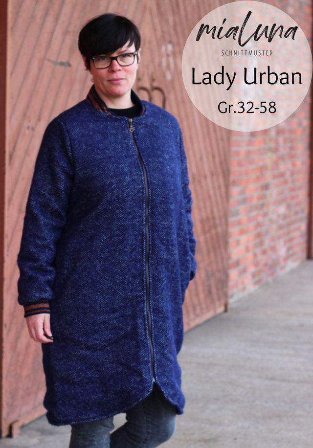 Produktfoto von mialuna zum Nähen für Schnittmuster Lady Urban