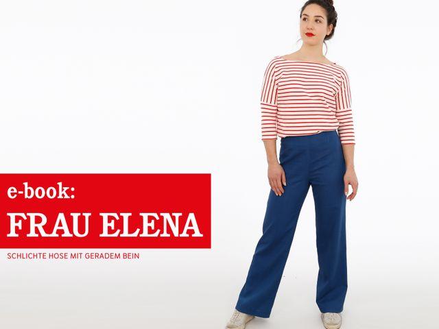 Produktfoto von STUDIO SCHNITTREIF zum Nähen für Schnittmuster Frau Elena