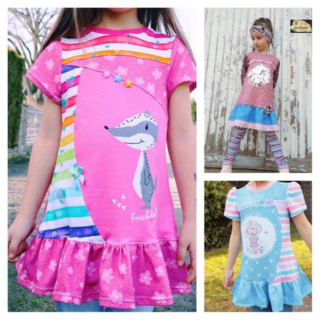 Produktfoto von Engelinchen zum Nähen für Schnittmuster Moonie Girl Tunika
