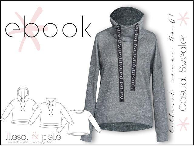 Produktfoto von Lillesol & Pelle zum Nähen für Schnittmuster Lillesol Women No. 61 Casual Sweater