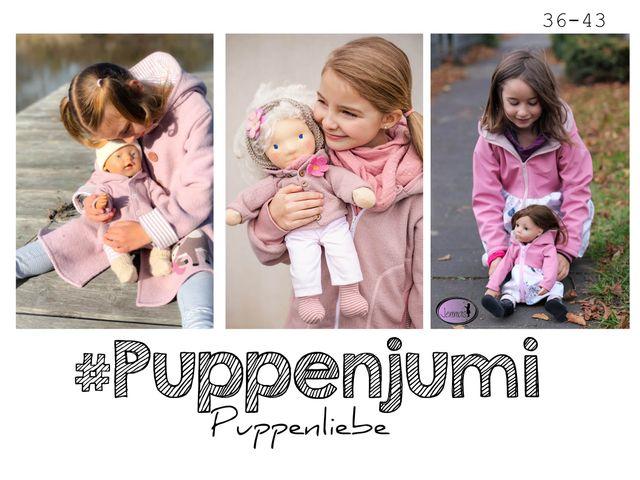Produktfoto von rosarosa zum Nähen für Schnittmuster Puppenjumi