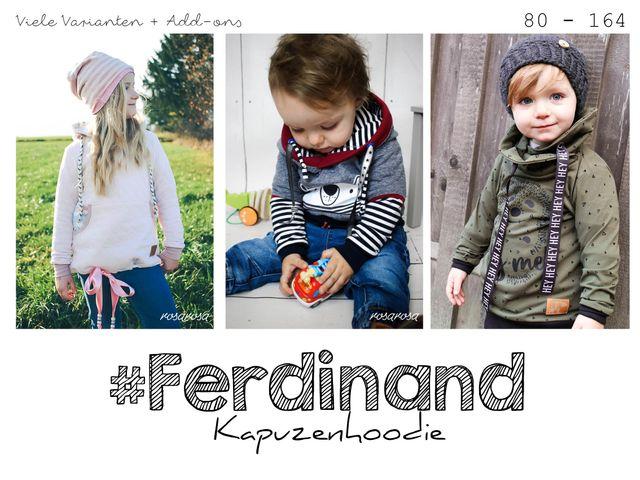 Produktfoto von rosarosa zum Nähen für Schnittmuster Ferdinand