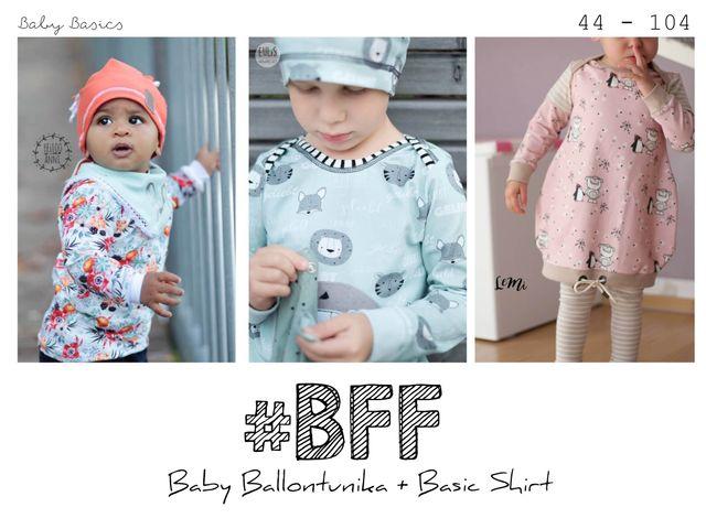 Produktfoto von rosarosa zum Nähen für Schnittmuster #BFF - Baby Feli & Ferdi