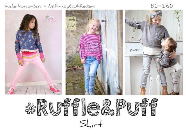 Produktfoto von rosarosa zum Nähen für Schnittmuster Ruffle & Puff