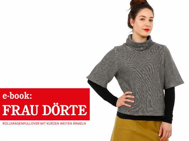 Produktfoto von STUDIO SCHNITTREIF zum Nähen für Schnittmuster Frau Dörte