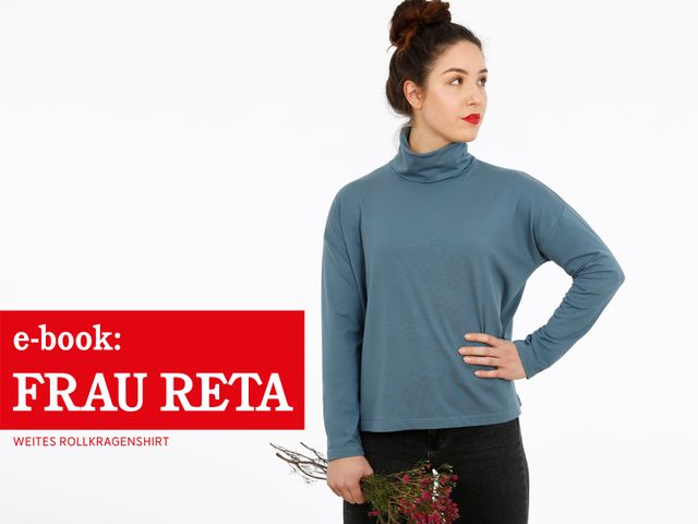 Produktfoto von STUDIO SCHNITTREIF zum Nähen für Schnittmuster Frau Reta