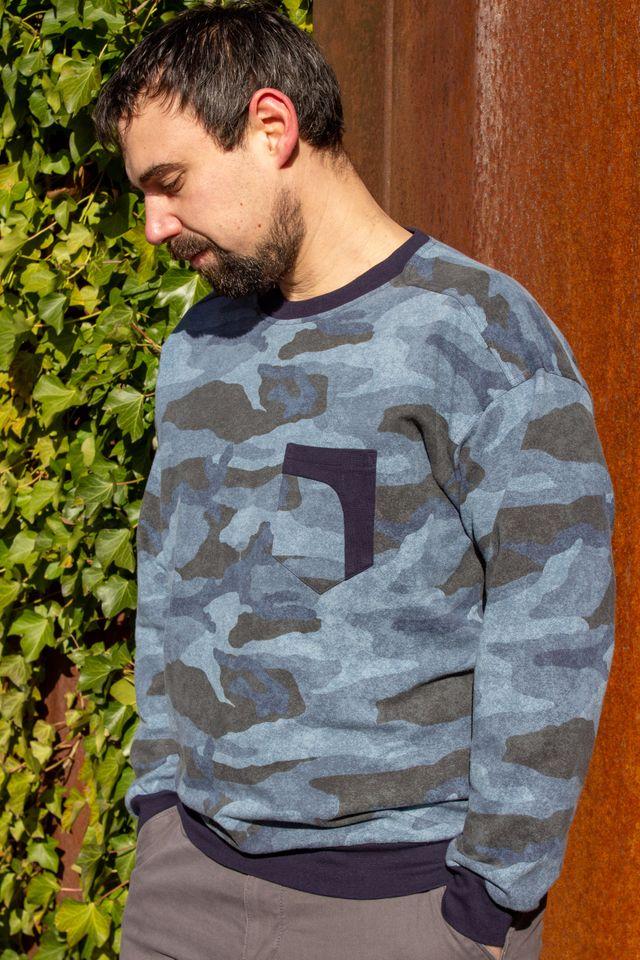 Produktfoto von einfach anziehend zum Nähen für Schnittmuster Schulter zum Anlehnen