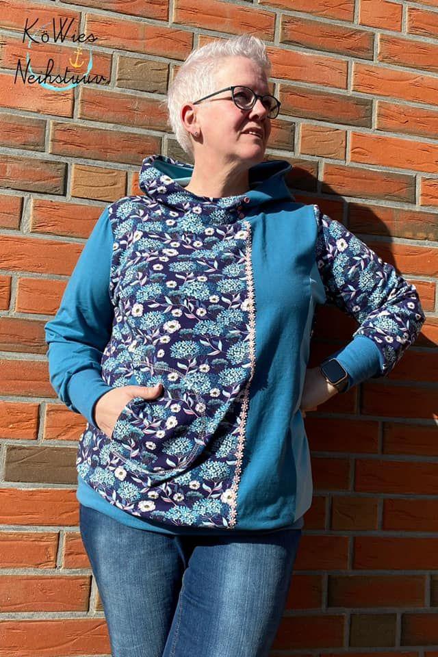 Produktfoto von Miou Miou zum Nähen für Schnittmuster Jacke, Shirt Julina XL