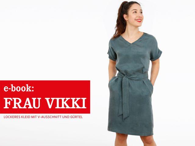 Produktfoto von STUDIO SCHNITTREIF zum Nähen für Schnittmuster Frau Vikki