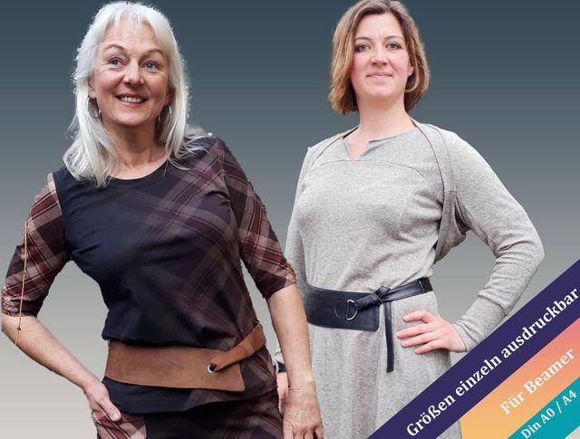 Produktfoto von Unendlich schön - Design Anita Lüchtefeld zum Nähen für Schnittmuster Rihana Wende-Hüft-Gürtel
