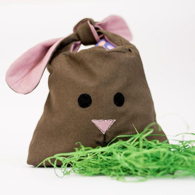 Produktfoto von pedilu zum Nähen für Schnittmuster P'Easy Bunny Bag -  Knotenbeutel