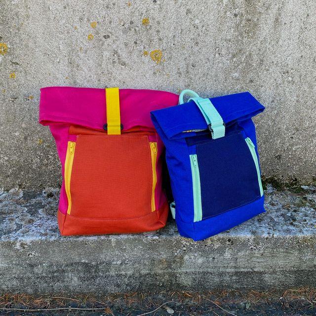 Produktfoto von 11-lein zum Nähen für Schnittmuster Rucksack Yoko Mini