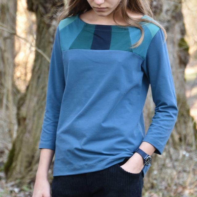 Produktfoto von Fabelwald zum Nähen für Schnittmuster T-Shirt Herbula