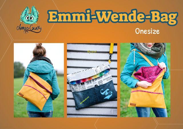 Produktfoto von Annas-Country zum Nähen für Schnittmuster Emmi-Wende-Bag