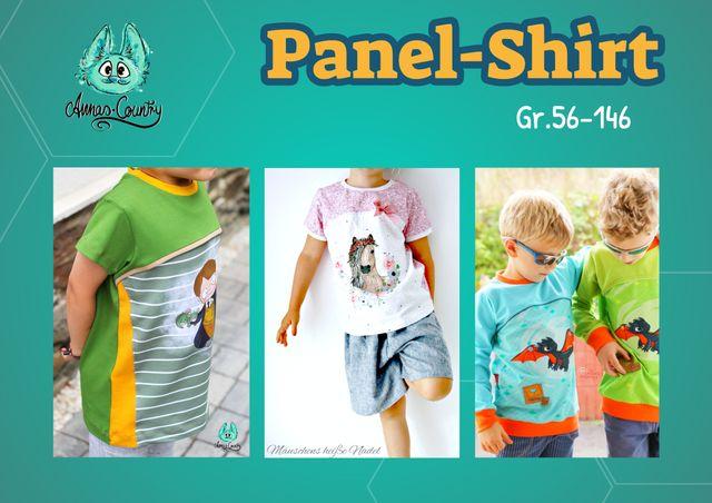 Produktfoto von Annas-Country zum Nähen für Schnittmuster Panel-Shirt