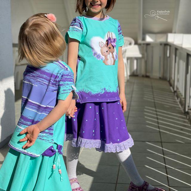 Produktfoto von MainZwillingsnadel zum Nähen für Schnittmuster Main SplitSet Girl