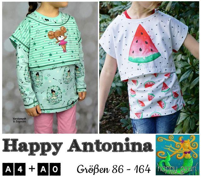 Produktfoto von Happy Pearl zum Nähen für Schnittmuster Happy Antonina