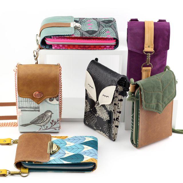 Produktfoto von Hansedelli zum Nähen für Schnittmuster Tasche Little Foksa